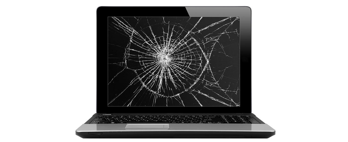 how to use a computer with damaged screen